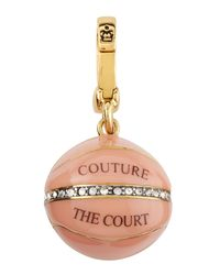 Juicy Couture | Pink Couture Court Ball Charm | Lyst
