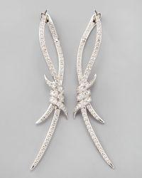 Stephen Webster - Metallic Diamond Barbed Wire Earrings - Lyst