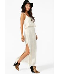 Nasty Gal | White Dream Crochet Maxi Dress | Lyst