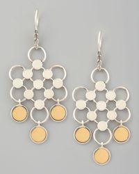 John Hardy - Metallic Gold-drop Dot Earrings - Lyst