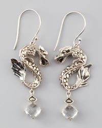 John Hardy | Metallic Naga Batu Drop Earrings  | Lyst