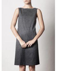 Max Mara Studio | Gray Agadir Dress | Lyst