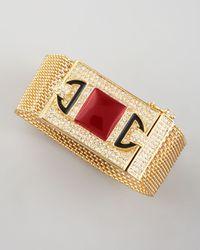 Rachel Zoe - Red Chainmaille Bracelet  - Lyst