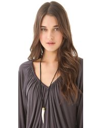 Antik Batik - Black Danti Necklace - Lyst