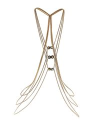 TOPSHOP | Metallic Multi Style Necklace | Lyst