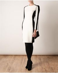 3.1 Phillip Lim | Black Lightweight Long Sleeved Shadow Dress | Lyst