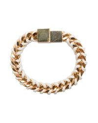 Bex Rox - Metallic Gold Box Bracelet - Lyst