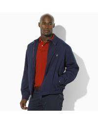 Polo Ralph Lauren - Blue Bi-swing Windbreaker for Men - Lyst