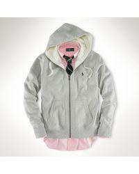 Polo Ralph Lauren | Gray Classic Fleece Hoodie for Men | Lyst