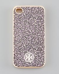 Tory Burch | Purple Dunraven Soft Iphone 4 Case Hydrangea | Lyst