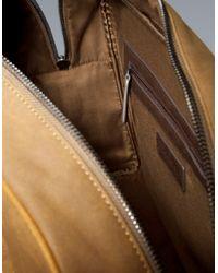 Zara   Yellow Sports Bag for Men   Lyst