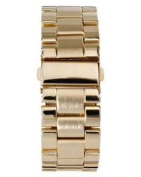 ASOS | Metallic Oversize Boyfriend Watch | Lyst