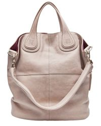 b43ec0a9d7 Givenchy Nightingale Medium Tote in Natural - Lyst