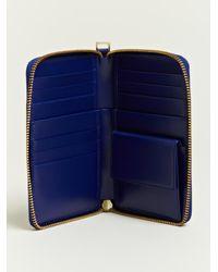 Jil Sander - Blue Jil Sander Womens Vertical Wallet - Lyst