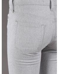 Levi's | Gray Pins Skinny Jean | Lyst