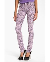 Marc By Marc Jacobs | Purple Lou Skinny | Lyst