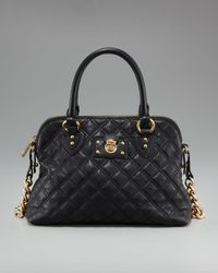 Marc Jacobs - Black Quilted Carmine Satchel - Lyst