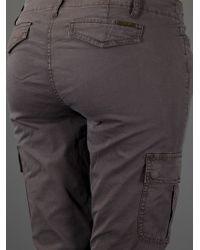 Michael Kors | Gray Tapered Cargo Trouser | Lyst