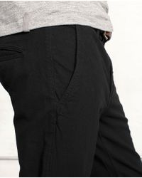 Rag & Bone | Rb7 Black Canvas for Men | Lyst
