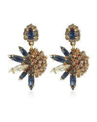 Erickson Beamon | Metallic Blue Envy Earrings | Lyst