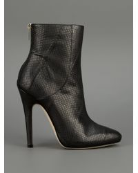 Jimmy Choo - Black Brinley Boot - Lyst
