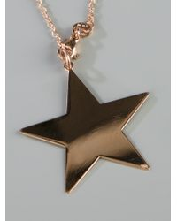 Maman Et Sophie - Metallic Star Charm Necklace - Lyst