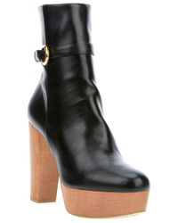 Stella McCartney   Black Ankle Boot   Lyst