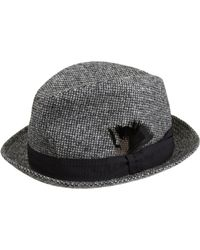 Paul Smith | Black Tweed Trilby Hat for Men | Lyst