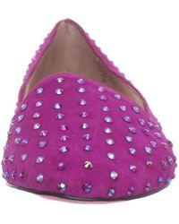 Betsey Johnson   Purple Betsey Johnson Womens Bliiingg Flat   Lyst