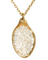 Husam El Odeh   Metallic Cave Salt Spoon Necklace   Lyst