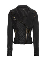 Jane Norman | Black Pu Biker Jacket | Lyst