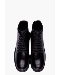 Jil Sander | Black Corsaro Riso Boots for Men | Lyst