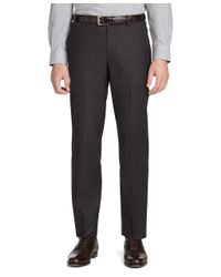 Brooks Brothers | Brown Milano Fit Mini Stripe Suit for Men | Lyst