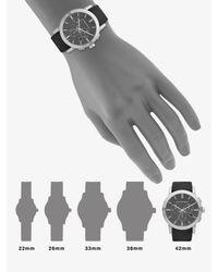 Burberry | Metallic Check Strap Chronograph Watch | Lyst