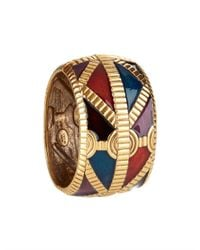 Oscar de la Renta - Multicolor Multi Color Cuff Bangle - Lyst