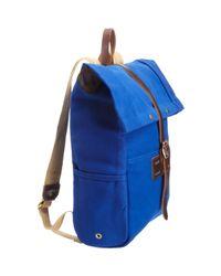 Barneys New York - Blue Rucksack for Men - Lyst