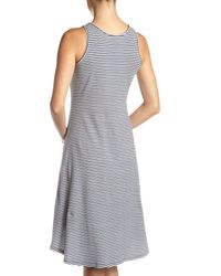 MICHAEL Michael Kors - Gray Belt-strap Tank Dress - Lyst
