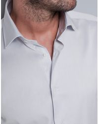 Zara | Blue Plain Twill Shirt for Men | Lyst