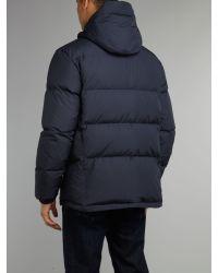 Paul Smith | Blue Puffa Jacket for Men | Lyst