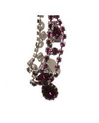 Tom Binns | Amethyst Asymmetric Crystal Necklace Purple | Lyst