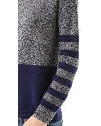 Madewell - Blue Jasper Mohair Mix Pullover - Lyst