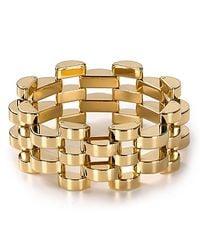 Michael Kors | Metallic Open Deco Link Bracelet | Lyst