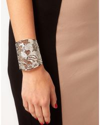 Ted Baker - Metallic Lace Cuff - Lyst
