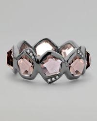 Ippolita - Gray Pave Diamond Smoky Quartz Ring - Lyst