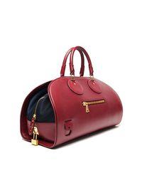 Proenza Schouler | Red Kiri Leather Bowling Bag | Lyst