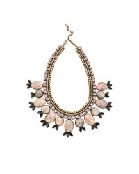 DANNIJO - Pink Adalyn Necklace - Lyst