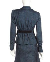 Nanette Lepore | Tickle Me Blue Suit Jacket | Lyst