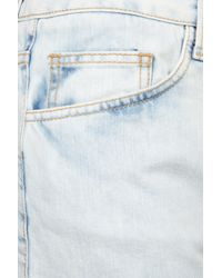 TOPSHOP - Blue Denim Shorts By Fifis Factory - Lyst