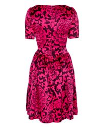 Temperley London | Purple Dianthus Dress | Lyst
