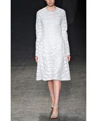 Yigal Azrouël | White Canvas Skirt | Lyst